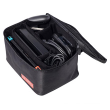 Sacola grande bolsa para Nintend Switch Travel Caixa de armazenamento protetora Mala de transporte de ombro para Nintend Console NS NX Pack