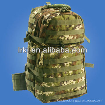 Woodland waterproof camo backpack