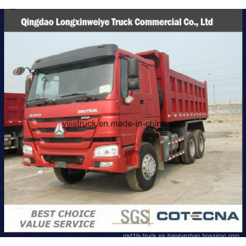 Camión volquete del camión volquete de Sinotruck HOWO de la alta calidad