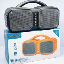 Original WSTER WS1661 Support USB TF CARD FM RADIO Music Sound System Multimedia Bass Speaker