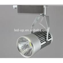Iluminación de acento interior de 100 mm punto de COB led luz de pista 20w hecho en China