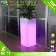 Plastic Square LED Flower Pot