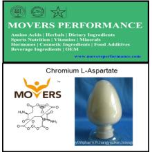 Qualité alimentaire de Chromium L-Aspartate de haute qualité