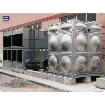 Torre de enfriamiento del intercambiador de calor Gran capacidad de enfriamiento