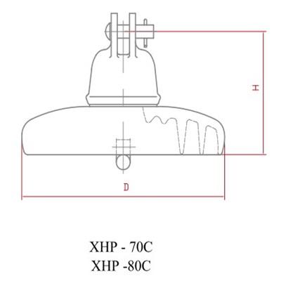 disc insulator XHP-70C,80C