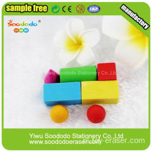 Auto Kinderen Building Block Toy Eraser