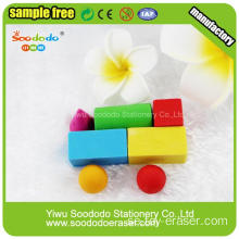Bil Barn Building Block Toy Eraser