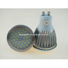 Dimmable 2835SMD GU10 Lámpara LED