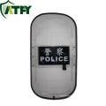 Venda quente Transparente Policarbonato Anti-motim Escudo parede