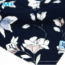 High Quality 100% Rayon Printed Flowers Fabric
