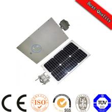Panel solar Batería LED Luz todo en uno Integrated DC 12V Luz de energía solar