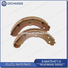 Patins de frein arrière NHR NKR d'origine 8-94479-671-0