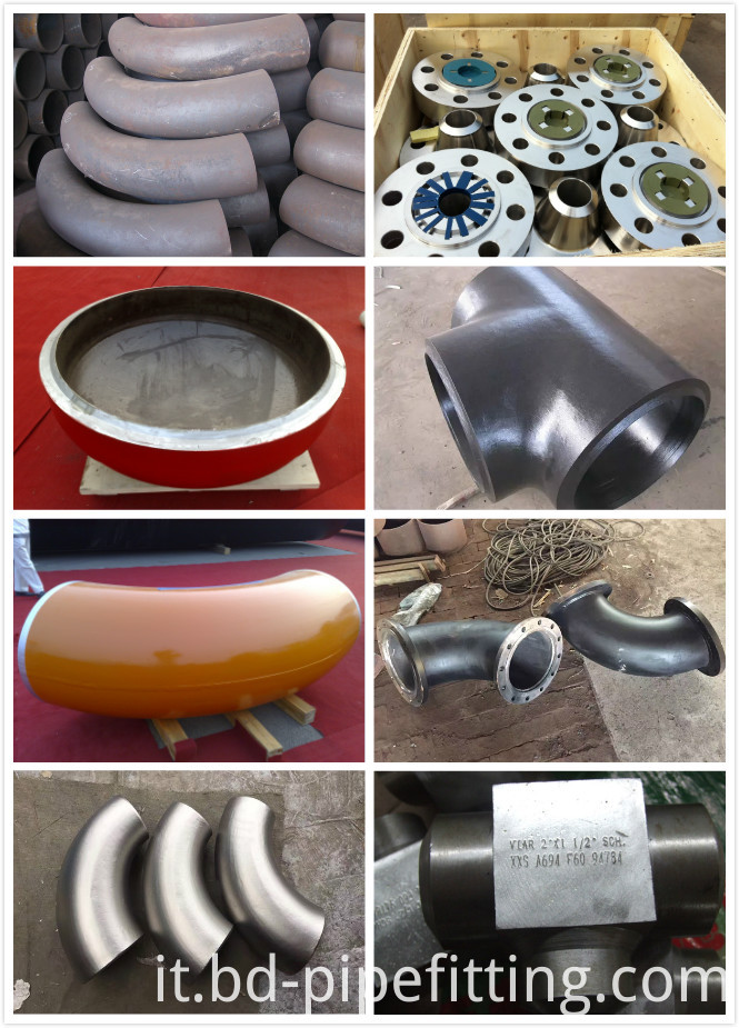 Butt Weld Pipe Fittings We Do