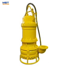 Solid particles submersible slurry pump