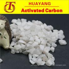 Propriedades químicas estáveis resistentes ao desgaste areia de quartzo / areia de sílica ao preço a granel fatory
