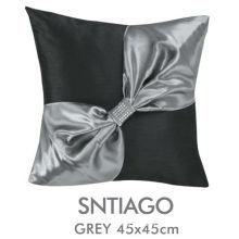 Santiago Custom Handmade Decorative Pillows Decorative Black With Invisible Zipper