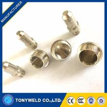 Luft-Plasmaschneiden FY100 Gas-Schneiddüse und Elektrode