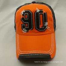 Diseñe su propio casquillo de la malla del estilo casquillo de béisbol del bordado 3d
