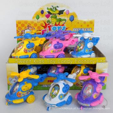 Acender o brinquedo de doces de helicóptero e doces em brinquedos (130911)