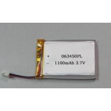 Batería del Li-Polímero 603450 batería recargable de 1200mAh 3.7V