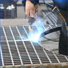 특이한 Forge-Welded Steel Grating