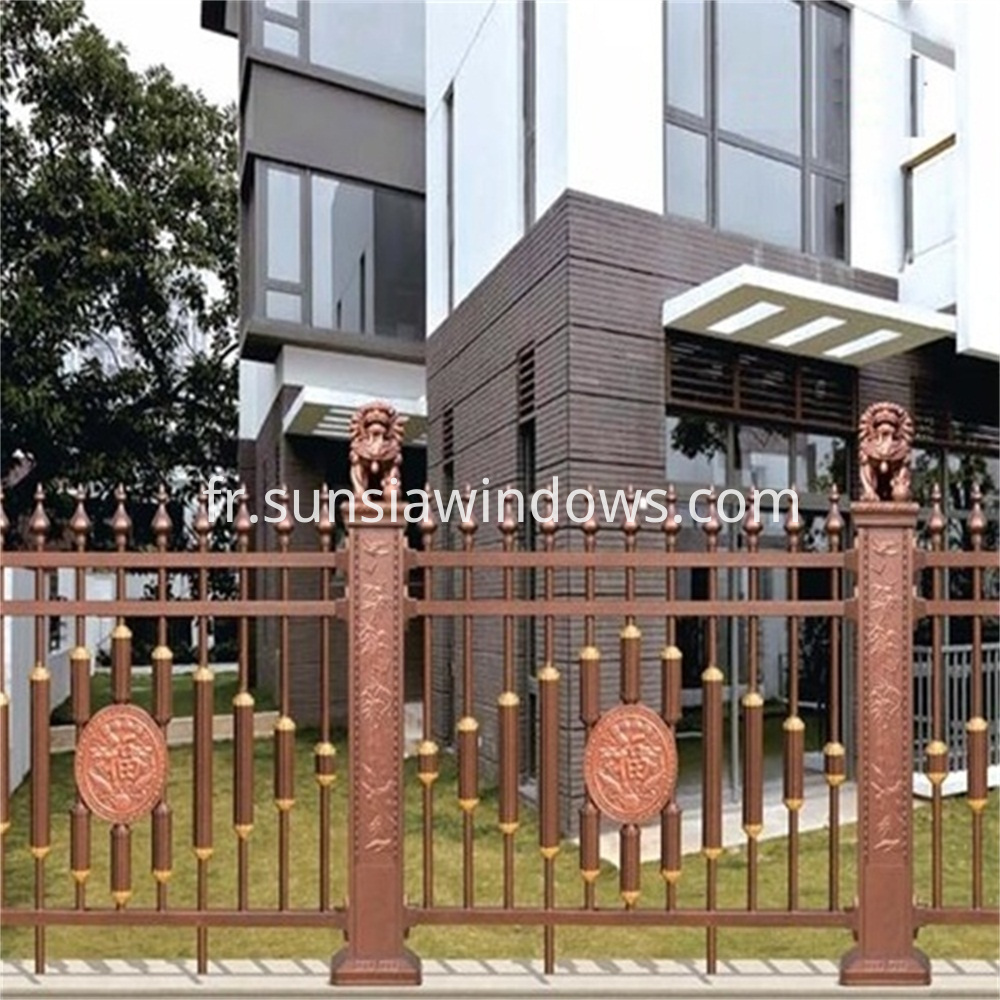 Aluminum Backyard Garden Fence