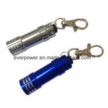 Промотирование миниый проблесковый свет СИД Keychain 3LED (FK-3016)