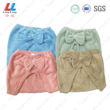 Innovative hair dry sponge bowknot style