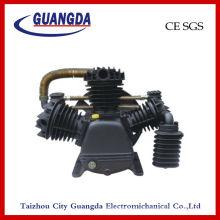 Motor del compresor de aire y la cabeza