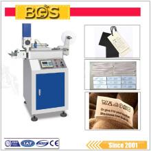 Selagem ultra-sônica automática da roupa da etiqueta do poder superior e maquinaria do corte
