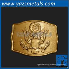personnaliser la boucle de ceinture en métal, boucle de ceinture présidentielle personnalisée de haute qualité