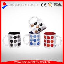 Presente promocional do fornecedor de China Caneca cerâmica do grão do copo de café