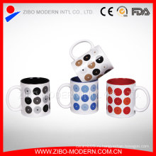 Китай Поставщик Рекламные подарки Керамическая чашка кофе Кубок керамики