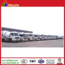 Camion de mélangeur concret avec le volume 6-10m3 facultatif