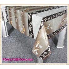PVC Printed Tablecloth with Nonwoven Backing in Roll Wholesale