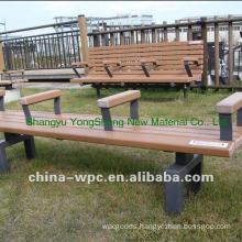 wpc patio benches