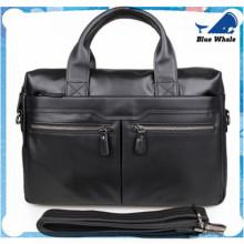 Men's Leather Satchel, Shoulder Bag Briefcase Laptop Bag