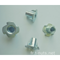 Noix d'ameublement Tee Nuts-4p