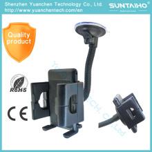 O suporte do suporte da montagem do pára-brisa da sucção 360 gira o suporte do telefone do carro