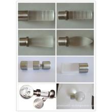 20MM neue Entwürfe Qualität Lucite Vorhang-Rod
