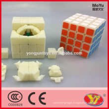 Competive price Moyu Weisu 4 layers ABS cube Magic puzzle Cube Intellect Toys for kids&adult