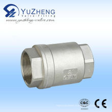 Ss316/304 Vertical Thread NPT Check Valve