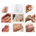 New Clear Silicone Makeup Powder Puff silicone make up sponge new shape
