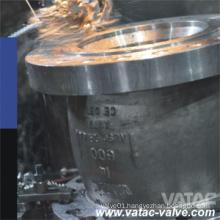 Pn16 Nozzle Type CF3m/CF3/Ss304L/Ss316L Double Flange Check Valve