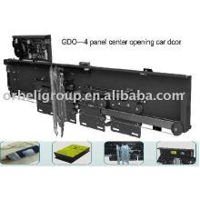 4 painéis de abertura central do operador da porta do carro, elevador