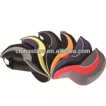 high visibility sew on fashion reflective binding for cap