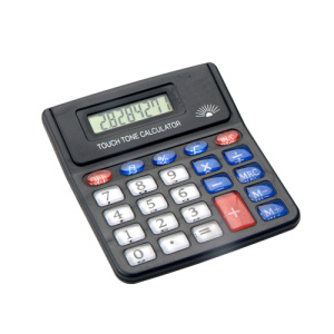 8 Digit  Semi Crystal  Button Calculator with