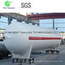 Réservoir cryogénique de capacité de 52,6 m3 pour le transport de liquides