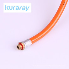 Flexible PVC high pressure pesticide spray hose. Manufactured by Kuraray. Made in Japan (plastic bottle hose sprayer)