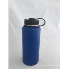 Botella aislante de los deportes del acero inoxidable de la boca ancha 30oz